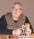"""Uwe  Jordan liest """"Mephisto"""" von Klaus Mann beim Hoyerswerdaer Kunstverein"""