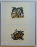 Illustrationen von Lothar Sell zu Büchern von Erwin Strittmatter