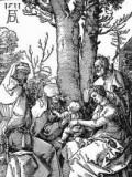 """Aus dem Zyklus """"Marienleben"""" von Albrecht Dürer"""