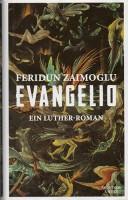 """Cover zu dem Roman """"Evangelio"""" von Feridun Zaimoglu"""
