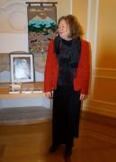 Irmtraud Gutschke liest beim Hoyerswerdaer Kunstverein aus ihrem Buch: Das Versprechen der Kraniche - Reisen in Aitmatows Welt und bringt weitere Bücher mit.