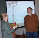 Erich Busse ist ein immer gern gesehener Referent beim Hoyerswerdaer Kunstverein
