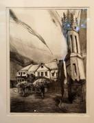 Geburtshaus von Otto Dix in Gera, Untermhaus. Grafik von Sven Schmidt