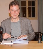 Alexander Suckel 2018 beim Hoyerswerdaer Kunstverein