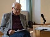 Dieter Fratzke liest 2018 beim Hoyerswerdaer Kunstverein