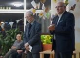 Professor Thomas Sutter (rechts) begrüßt als Ärztlicher Direktor die Gäste