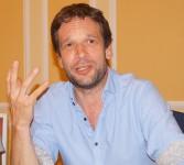 Björn Kuhligk liest beim Hoyerswerdaer Kunstverein