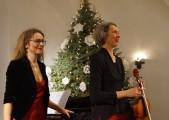 Heidemarie Wiesner und Waltraut Elvers, v.l.