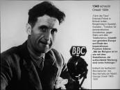 George Orwell, aus einem Vortrag von Erich Busse über das Christentum in Europa.