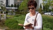 Angela Potowski liest aus den Briefen von Brigitte Reimann zum Tag der Dichter 2017 in Hoyerswerda