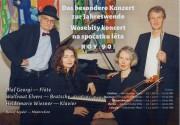 Heidemarie Wiesner und Waltraud Elvers, Detlef Seydel und Olaf Georgi (jeweils von links)