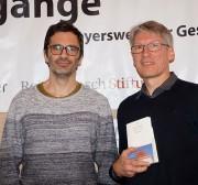 Nicol Ljubić und Mirko Schwanitz, von links.
