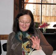 Roza Domascyna liest in der Krabatmühle 2011