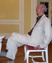 Fritz Mierau 2007 beim Hoyerswerdaer Kunstverein