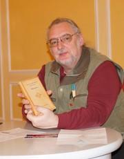 Uwe Jordan bei einer früheren Lesung zu Iwan Gontscharow beim Hoyerswerdaer Kunstverein