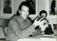 Fritz Mierau 1976 beim Freundeskreis der Künste und Literatur in Hoyerswerda