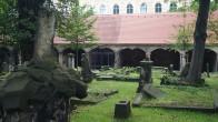 Eliasfriedhof Dresden, restaurierte Grufthäuser.2018