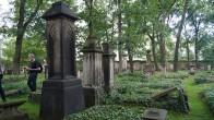 Eliasfriedhof Dresden, Grabmal für den Juristen Dr. Christian Ernst Ulrici, nach Entwürfen von Caspar David Friedrich.