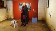 Barbara Seidl-Lampa, Senftenberg, stellt Gemälde und Skulpturen aus.