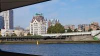 Rotterdam vom Waterbus aus gesehen, 2015