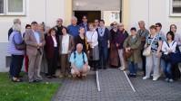 Reisegruppe der Urania Potsdam an der Brigitte-Reimann-Begegnungsstätte