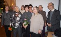 Der neue Vorstand des Hoyerswerdaer Kunstvereins