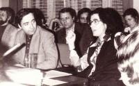 Christa Wolf 1976 in Hoyerswerda beim Freundeskreis der Künste und Literatur