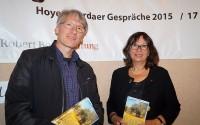 Alida Bremer und Mirko Schwanitz zur Lesung in Hoyerswerda, 2017