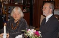 Martin und Helene Schmidt, 28.10.2017, am 80. Geburtstag von Martin Schmidt