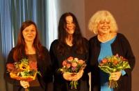 Karin Düwel, Ines Burdow, Nicole Janze, von rechts.
