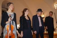 Waltraud Elvers, Heidemarie Wiesner, Detlef Seydel, Olaf Georgi, von links