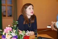 Olga Grjasnowa liest beim Hoyerswerdaer Kunstverein, 2018