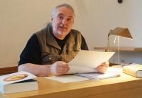 """Uwe Jordan liest aus """"Erste Erde. Epos"""" von Raoul Schrott beim Hoyerswerdaer Kunstverein"""
