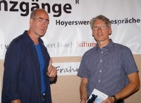 Thomas Frahm. links, mit Mirko Schwanitz.
