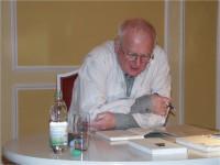 Erich Sobeslavky 2005 beim Kunstverein in Hoyerswerda