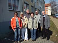 Die Mitarbeiter des Projektes Parabelring