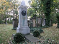 Lessings Grab auf dem Magni-Friedhof in Braunschweig
