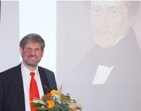 Professor Dr. jur. Andreas Wien lädt zu einer Bildbetrachtung ein: Carl Spitzweg