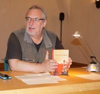 Uwe Jordan liest beim Hoyerswerdaer Kunstverein