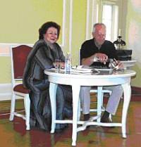 Janina Brankatschk und Benno Mahr
