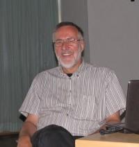 Erich Busse 2011 beim Kunstverein Hoyerswerda