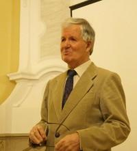 Manfred Dietrich beim Hoyerswerdaer Kunstverein 2015
