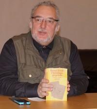 """""""Flüchtlingsgespräche"""" des Dramatikers Bert Brecht, gelesen von Uwe Jordan beim Hoyerswerdaer Kunstverein"""