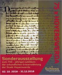 Ersterwähnung von Hoyerswerda am 1. Mai 1268 in einer Urkunde von Markgraf Otto von Brandenburg