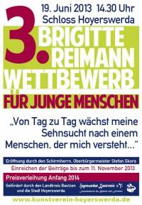 Einladung zur Eröffnung des 3. Brigitte-Reimann-Wettbewerbs