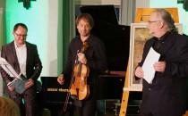 Kammermusik-Duo Florian Bischof und Sebastian Wohlfahrt, v.l.