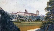 Kremsmünster, Gemälde von Adalbert Stifter