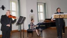 Konzert Fernweh V, Malte Hübner, Claudia Wolf, Waldemar Wild, von links.