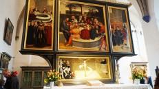 Reformationsalter in der Stadtkirche St. Marien in Wittenberg, von Lucas Cranach d. Ä. 1547