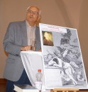 Dieter Fratze, 2019 beim Hoyerswerdaer Kunstverein, mit einem Vortrag zum Aufklärungsgedanken bei Lessing